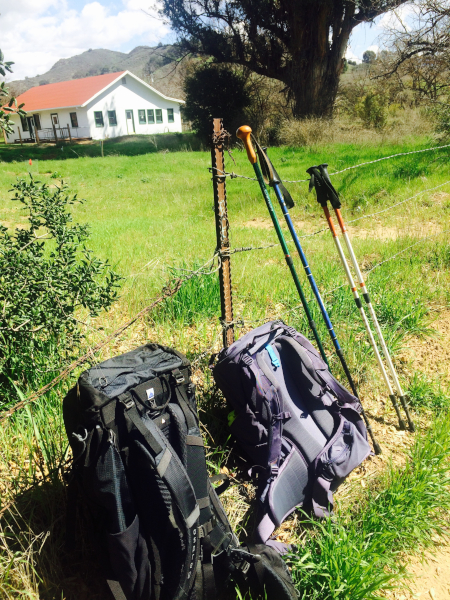 Hiking the Camino-small